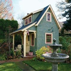 Cute Small House    hobbit house    #tinyhomesdigest
