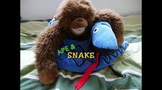Apina & Käärme Teddy Bear, Toys, Animals, Activity Toys, Animales, Animaux, Clearance Toys, Teddy Bears, Animal
