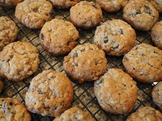 I recently was told by the Doc that I need to get my cholesterol down by 30 points in 90 days or I have to start taking statin drugs.......so......cookies have egg yolks and butter.....and they won't help me get to my goal. I made this recipe to accommodate my sweet tooth and maybe even help lower my cholesterol at the same time. Oats are notorious for lowering cholesterol and the Omega-3 in some cooking oils is beneficial too. I don't think anyone will know that these are a healthier...