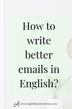 Write better emails in English by using these 45 useful email expressions. - and Drink in english language Write better emails in English by using these 45 useful email expressions. English Speaking Skills, English Writing Skills, Learn English Words, English Phrases, English Language Learning, English Vocabulary, English Grammar, Teaching English, English Tips