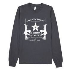 American Threeper Star Long Sleeve T-Shirt