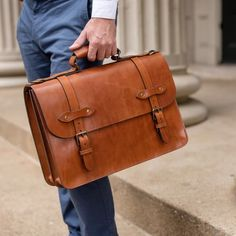 Vintage Leather Messenger Bag, Messenger Bag Men, Briefcase For Men, Men's Leather Briefcase, Leather Men, Leather Jackets, Pink Leather, Leather Bags, Leather Handbags