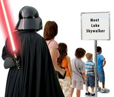 Meet Luke Skywalker   #StarWars #DarthVader