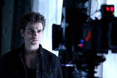 Paul Wesley's looking sharp in this exclusive photo! #TVD