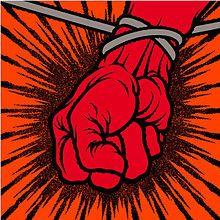 Metallica. Brian (Pushead) Schroeder designed the album cover and interior artwork for St. Anger