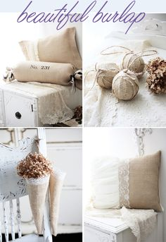 Burlap Party Decor | burlap beautiful burlap