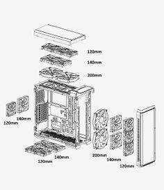 2b8169d6d19323b953b3ca1b499fecff phanteks enthoo primo full tower fan controller module fan hub  at n-0.co