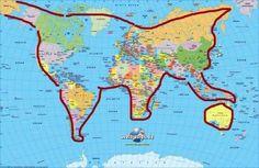 Весь мир - это котик, играющий Австралией
