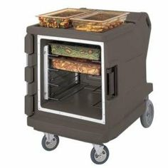 "Cambro CMBH1826LC194 Granite Sand Camtherm Electric Food Holding Cabinet Low Profile - Hot Only by Cambro. $2839.00. Internal Celsius thermometer. Energy Star Certified. 110V; 9.1 Amps; 1100 Watts. NSF Listed. Holds up to 12 2-1/2"" deep full-size food pans. Cambro CMBH1826LC194 Granite Sand Camtherm Electric Food Holding Cabinet Low Profile - Hot Only Electric Foods, Catering Equipment, Catering Food, Energy Star, Kitchen Storage, Storage Organization, Home Kitchens, Granite, Kitchen Dining"