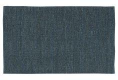 9'x13' Continental Jute Rug, Blue on OneKingsLane.com