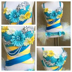 UCLA rave outfit. Go Bruins!~