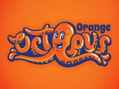 Orange Octo by Jason Villanti