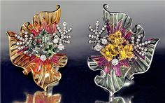 Lily Cut® Sapphires Earrings by Lili Jewelry
