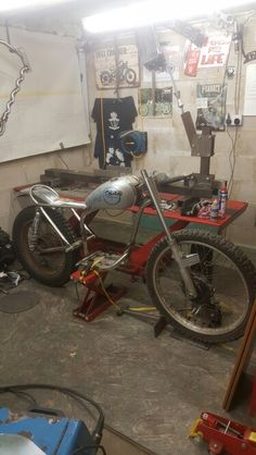Pre 65 motorcycle frame