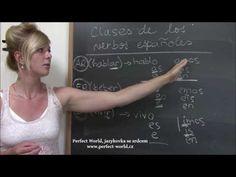 Španělský videotip č.4: Třídy španělských sloves | Perfect World, Jazyková škola v Plzni