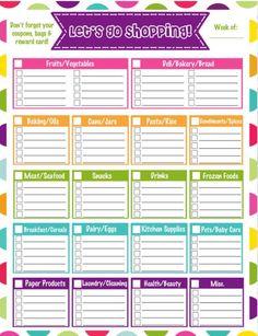 Shopping list ?????????