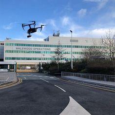 Drone filming at Jaguar Landrover Halewood #JLR . . . . #drone #drones #dronestagram #jaguar #landrover @jaguaruk @landrover @landrover_uk #Inspire2 #DJI #Inspire1 #mavic2pro #manufacturing Aerial Photography, Jaguar, Sidewalk, Inspire, Film, Instagram, Movie, Film Stock