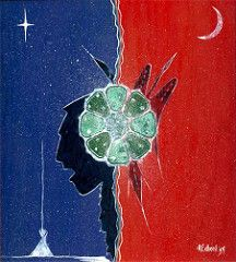 Peyote Art by Herbert Stash 26 by via t Native American Church, Indian Artwork, Sacred Plant, Southwestern Art, Indigenous Art, Ancient Symbols, Visionary Art, Native Art, Painting & Drawing