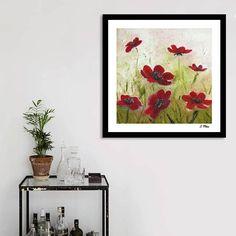 Wild Flowers. Original Oil Painting. Floral Painting. Modern