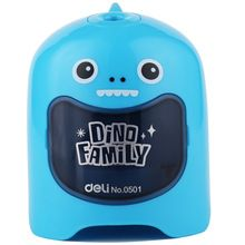 Deli cute automatic Electric pencil sharpener stationery for students Pencil Sharpener Creative school & office supplies(China)