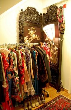 what to do if you don't have a closet