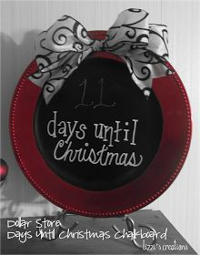 Headed out to pick everything up for this gorgeous charger plate Christmas decoration today! Can't wait to make it!!