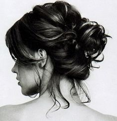 Short Hairdos - How To Style Short Hair - Hair Styling Tips - Short Hair Updos My Hairstyle, Messy Hairstyles, Pretty Hairstyles, Wedding Hairstyles, Hair Updo, Hairstyle Ideas, Formal Hairstyles, Belage Hair, Tousled Hair