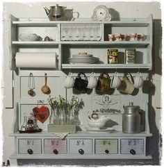 Barn Kitchen, Rustic Kitchen, Shabby Chic Kitchen Decor, Farmhouse Decor, Painted Furniture, Diy Furniture, Muebles Shabby Chic, Wabi Sabi, Bars For Home