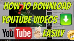 How to download YouTube videos to your computer without using any softwa...