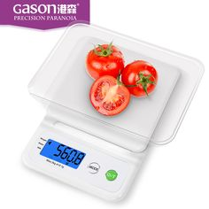 Gason C3 3kg 0.1g measuring weight weighing digital electronic scale kitchen food household floor scales table tools with tray meal plan -- AliExpress Affiliate's buyable pin. Find similar products on www.aliexpress.com by clicking the VISIT button
