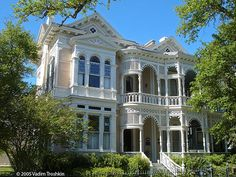 Sonnentheil house.  19th and Sealy.  Galveston