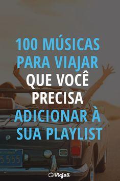 100 músicas para viajar que você precisa adicionar à sua playlist Music Love, Dance Music, Travel Music, Song Playlist, Writing Advice, Music Icon, Eurotrip, Van Life, Travel Inspiration