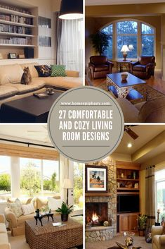 Here Are 27 Cozy Living Room Design Ideas (photos) #cozy #livingroom #