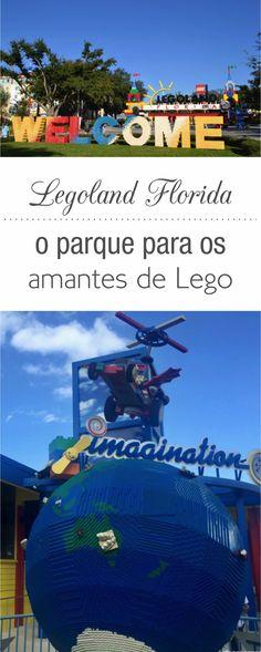 Legoland Florida com criança mundo de lego