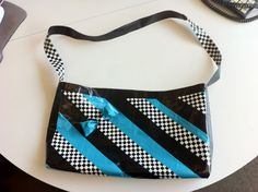 ducktape purse...super stylish!