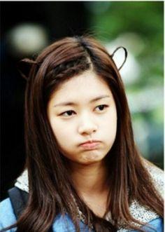 Bear hairstyle on Oh Ha Ni in PK