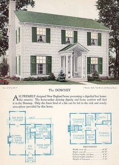 1928 Home Builders Catalog - The Downey | Flickr - Photo Sharing!