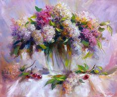 Сохранённые фотографии – 5 837 фотографий Lilacs, Painting, Art, Art Background, Lilac, Painting Art, Kunst, Syringa Vulgaris, Paintings