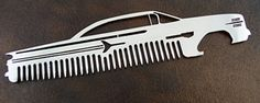 """COMB/BOTTLE OPENER 13G 304 STAINLESS STEEL  SIZE - 5•5/16"""" X 1•3/8""""  POLISHED MIRROR FINISH"""