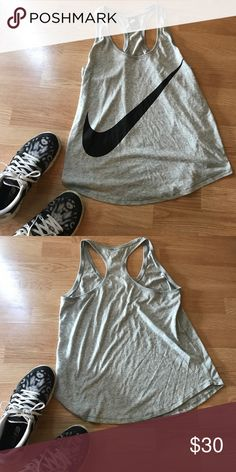 Nike swoosh workout tank top New without tags, hasn't been worn. Make an offer! Nike Tops Tank Tops