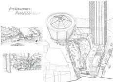 Sketch : MXD / Community centre / Panel sketch