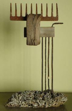 """Saatchi Online Artist Oriol Cabrero; Sculpture, """"moose"""" #art"""