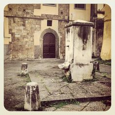 #Fontana di Piazza S. Luca Acquedotto #mediceo di #Pisa