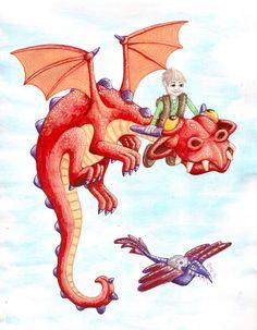 Philip's Dragon by Onanymous.deviantart.com on @DeviantArt