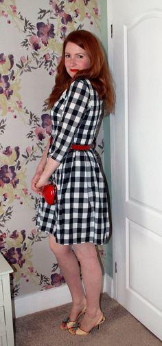 Gingham 'Emery' dress (Christine Haynes)