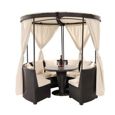 El Dorado Furniture : Coco Island Black Gazebo
