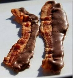 Motherfucking chocolate bacon.