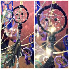 #Handmade #Earrings #Dreamcatcher, made with cotton thread and large rope. Completely handmade with synthetic feathers. The patterns and colors available are only those in the... #dreamcatcher #dreams #sogni #acchiappasogni #handmade #dream #orecchini #earrings #earring #indian #indiani