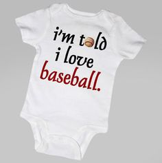 My kids WILL love baseball.