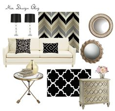 Copy Cat: Modern Glam Living Room, Series 1  Find out how to recreate a favorite room seen online! www.miadesignblog.com